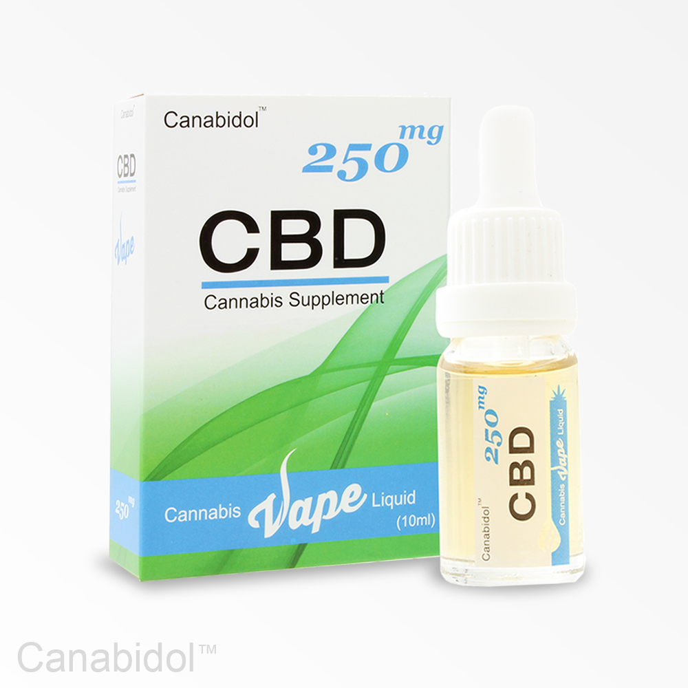 CBD Cannabis Vape Liquid 250mg 10ml