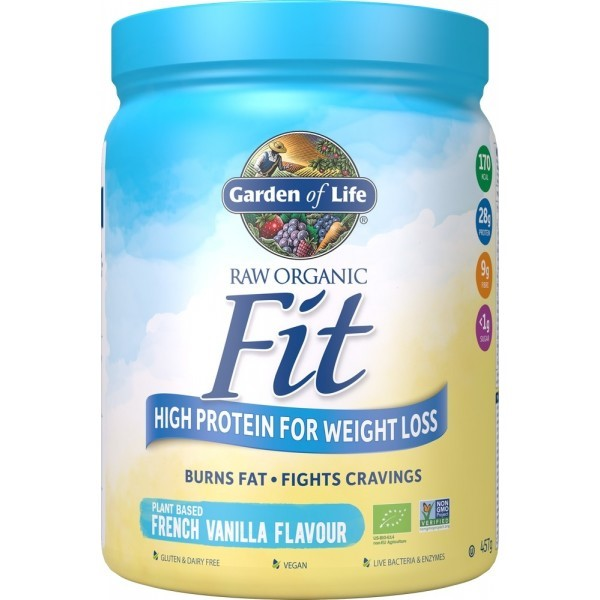 Raw Organic Fit French Vanilla 457g (Currently Unavailable)