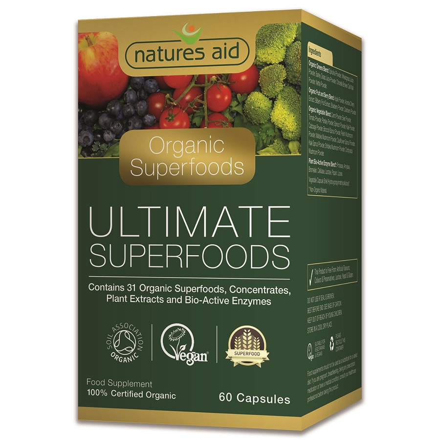 Organic Ultimate Superfoods 60 S The Natural Dispensary