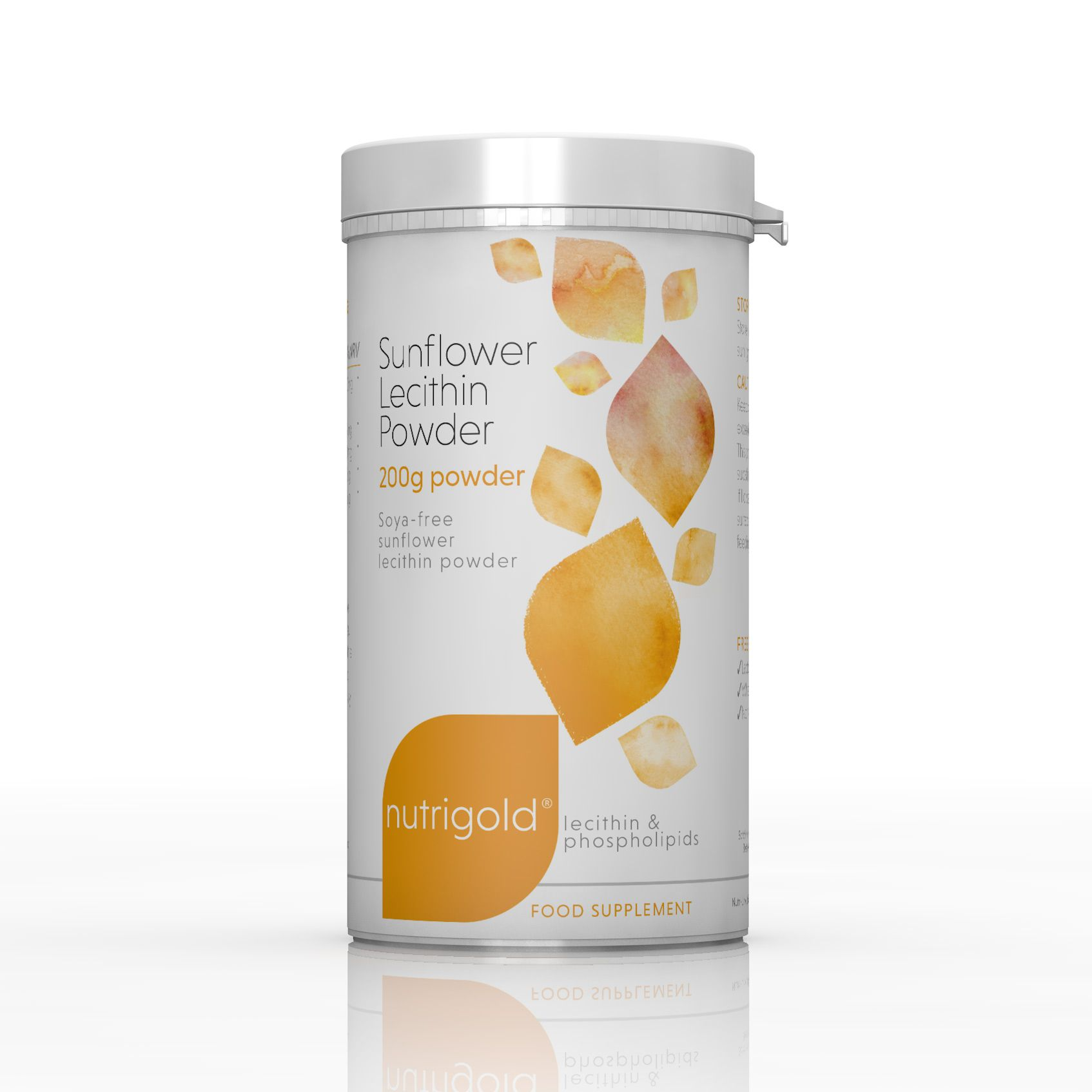 Sunflower Lecithin Powder 200g: The Natural Dispensary