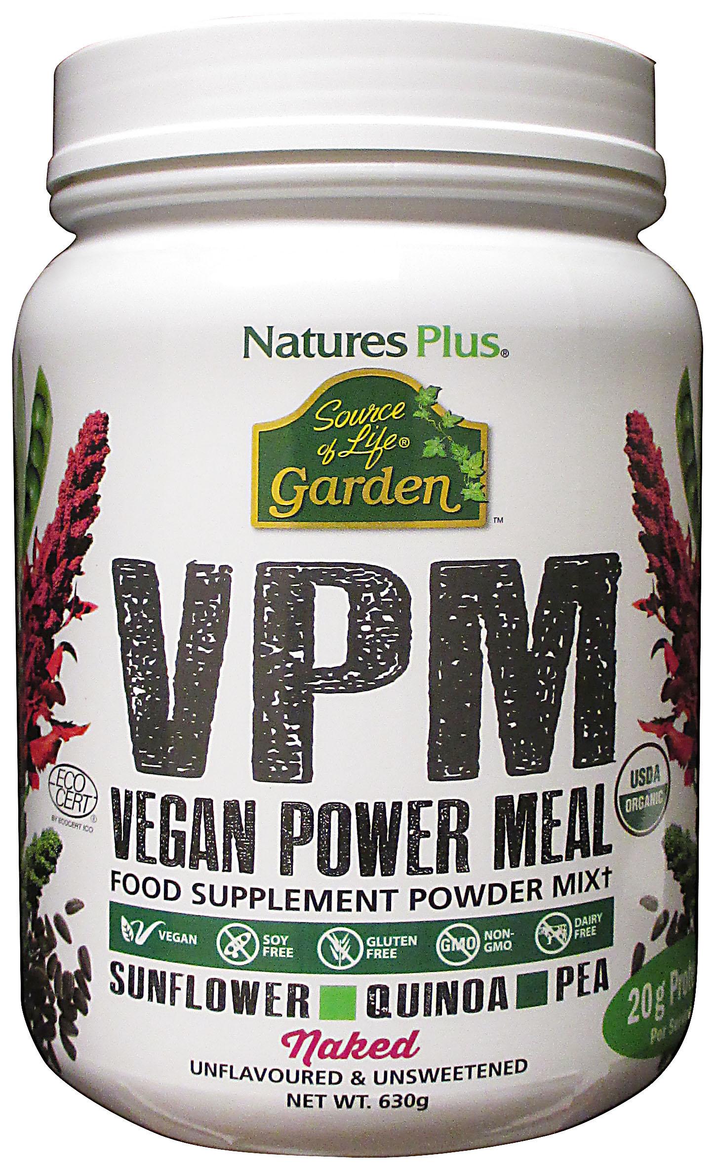 Natures Plus Source of Life Garden® VPM Vegan Power Meal