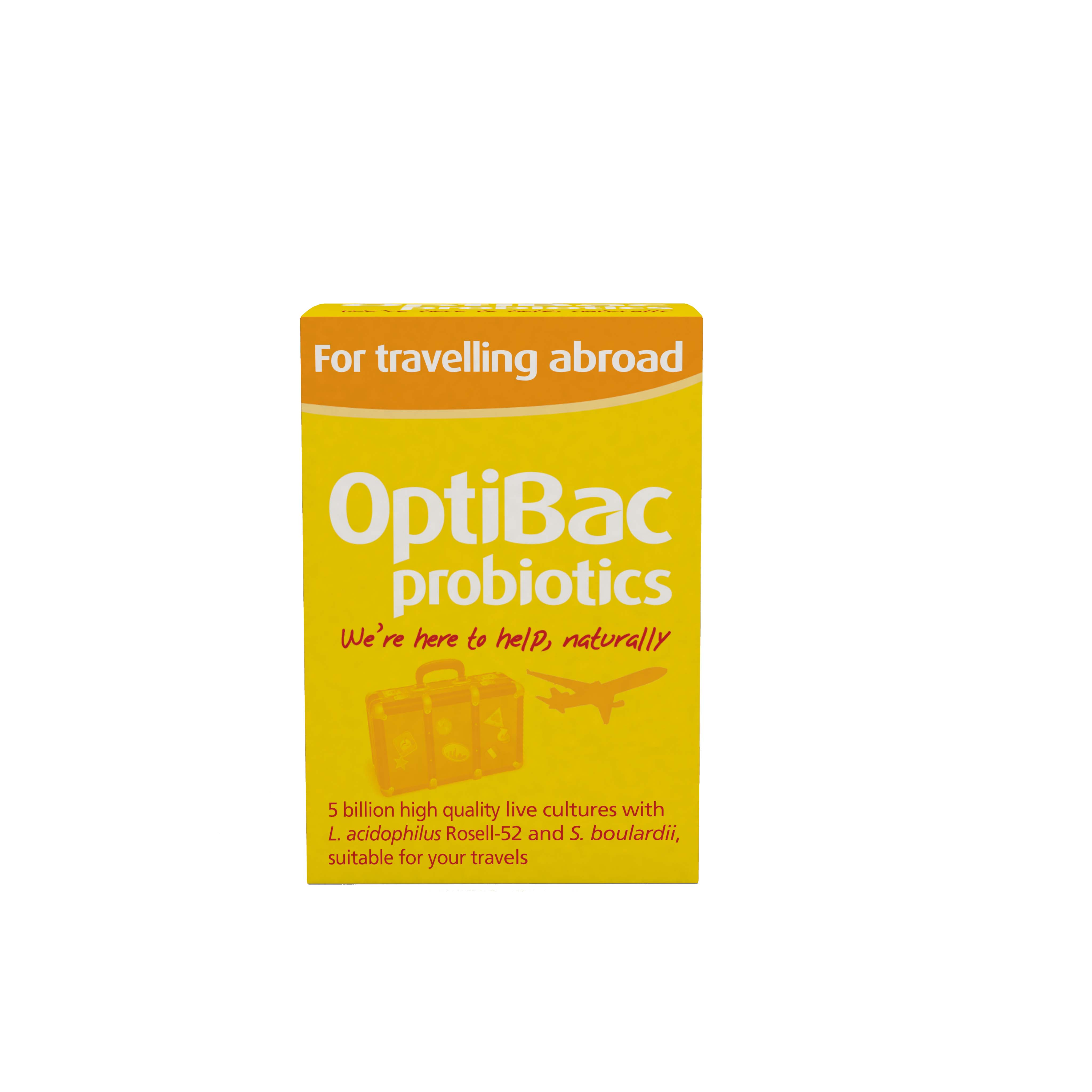For Travelling Abroad 20 Capsules The Natural Dispensary
