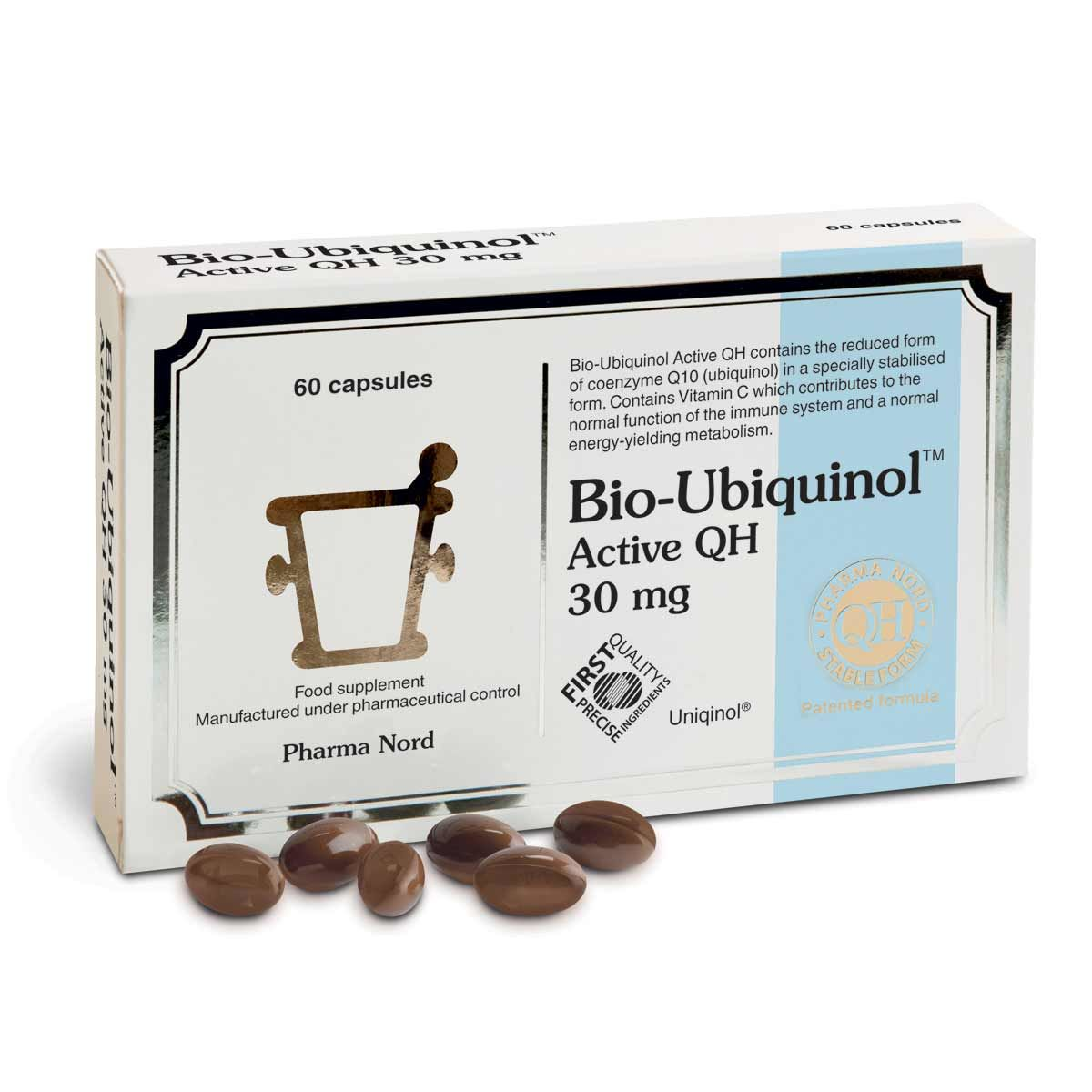 Bio-Ubiquinol Active QH 30mg 60's