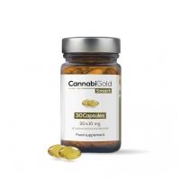 CannabiGold Smart 30x10mg 30 capsules
