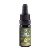 CBD Multi-Complex Hemp Oil Concentrate 500mg 5% 10ml