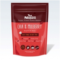 Organic Chia & Mulberry Muffin Mix 400g