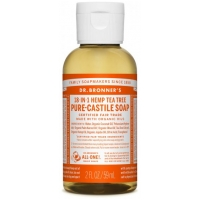 18-in-1 Hemp Tea Tree Pure-Castile Liquid Soap 60ml