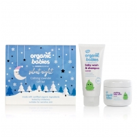 Organic Babies Silent Night Calming Lavender Gift Set