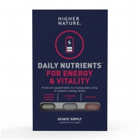Daily Nutrients For Energy & Vitality 28 Days Supply