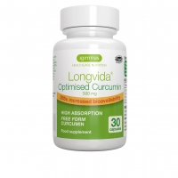 Longvida Optimised Curcumin 500mg 30's