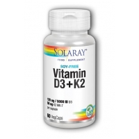 Vitamin D3 and K2 60's